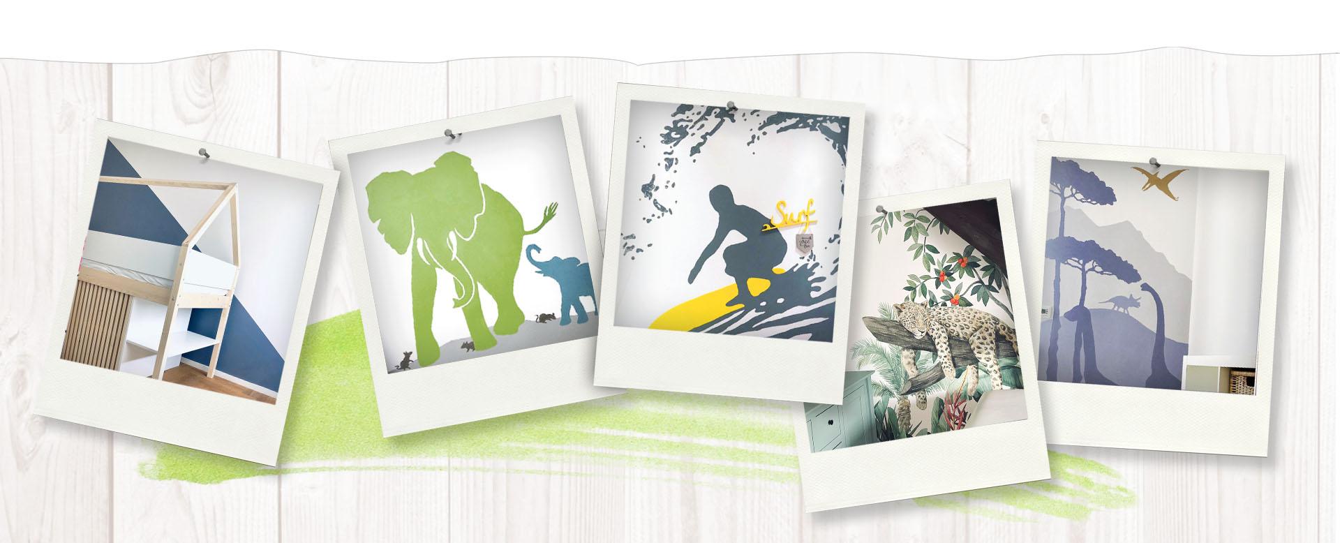 kleine 4 wände | individuelle Wandmalerei und Raumgestaltung ...